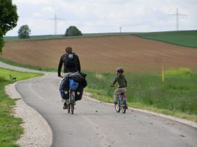 Radtour über gute Radwege und kleine Straßen