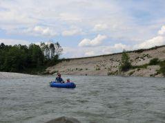 markantes Steilufer kurz vor Einöd