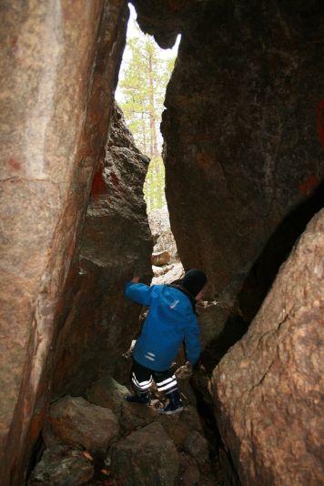 ein kurzer Trip in die Eishöhle