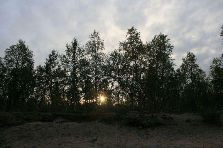 ...und Abendsonne - Lappland at its best!