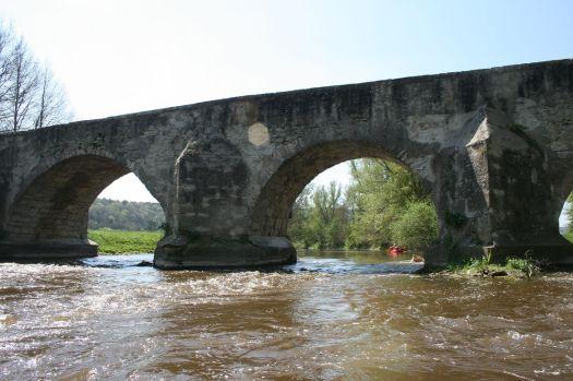 Mittelalterliche Brücke bei Pfünz