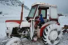 ...und Traktorfahren