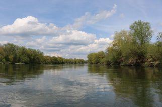 die Donau bei Eining