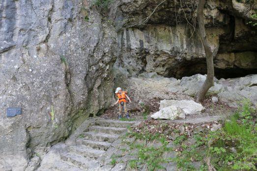"""""""Höhle"""" in der Weltenburger Enge"""