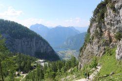 Aussicht vom Höhlenausgang
