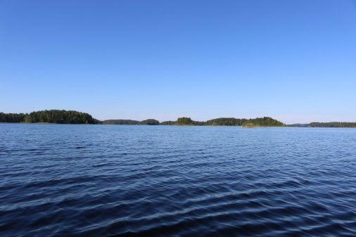 der Charakter des Sees ändert sich...