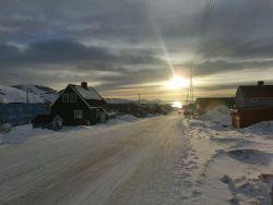 Straße in Ilulissat