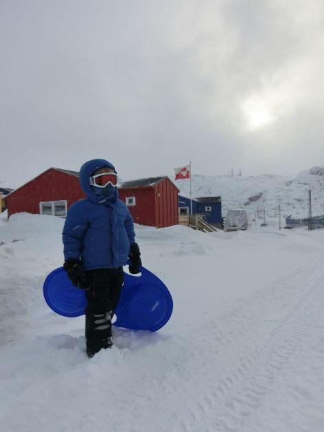 bereit fürs Schneetreiben