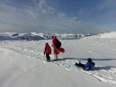 ...machen wir uns wieder auf den Weg zum Eisfjord
