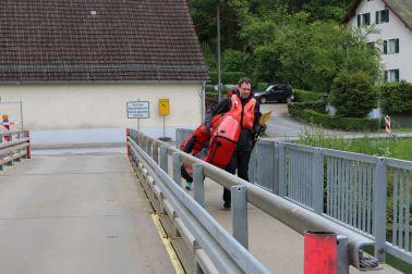 längere Umtragung in Artelshofen