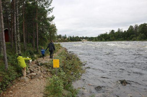 Stromschnelle am Juutuanjoki