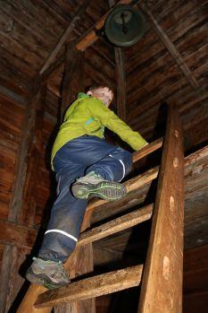 Aufstieg zum Glockenturm