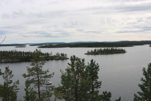 Ausblick auf die umliegenden Inseln