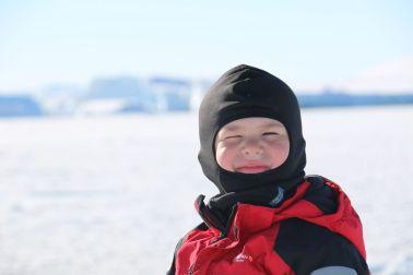 glücklicher Arktisreisender 1