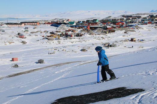 ... im Hintergrund Ilulissat