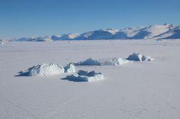 Eisberge vor Uummannaq