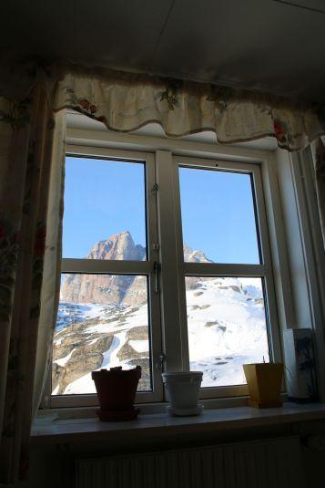 Blick aus unserem Wohnzimmerfenster