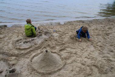 Sand-Landschaften