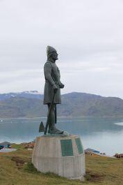 Statue Eriks des Roten überhalb von Qassiarsuk