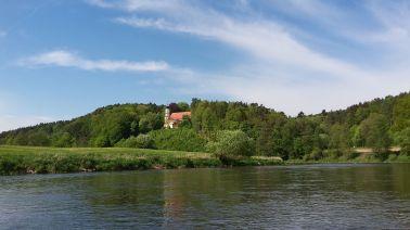 idyllische Flußlandschaft
