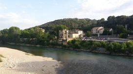 Reste einer römischen Brücke