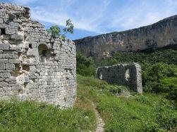 sehenswerte Reste einer Leprastation der Templer
