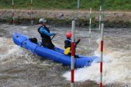 kurz nach dieser Aufnahme steigt Sven aus dem Boot - spektakulär mit einem Salto, wie man mir erzählt