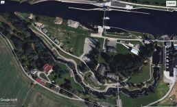 Der Wildwasserkanal bei Budweis (Quelle: Google Earth)