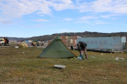"""Zeltplatz"" in Ilulissat"