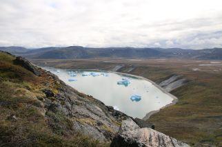 zur einen Seite der Fjord...