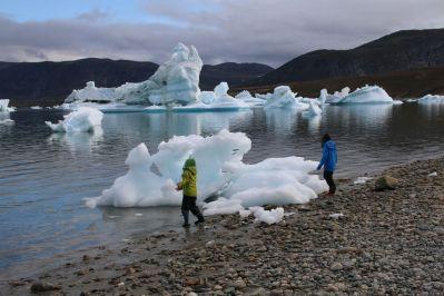 Wasser, Eis, Steine - was braucht man mehr