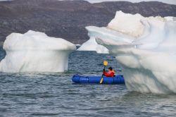 ...zwischen Eisbergen