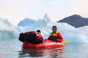 ein letztes Mal zwischen Eisbergen
