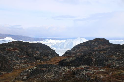der Eisfjord kommt näher