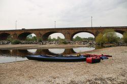 nach dem Brückenwehr