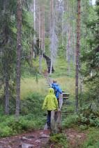 Wanderung im Dauerregen