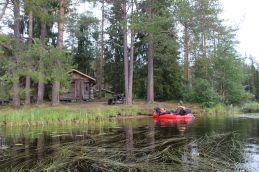 idyllisch gelegene Hütte